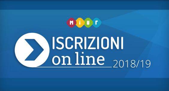 Iscrizioni on-line 2018/19